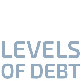Headlines graphic Record breaking levels of debt